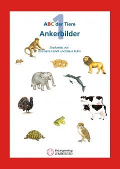 ABC der Tiere 1 - Ankerbilder der Buchstaben