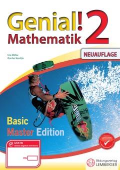 Genial! Mathematik 2 - Übungsbuch: Basic + Master Edition
